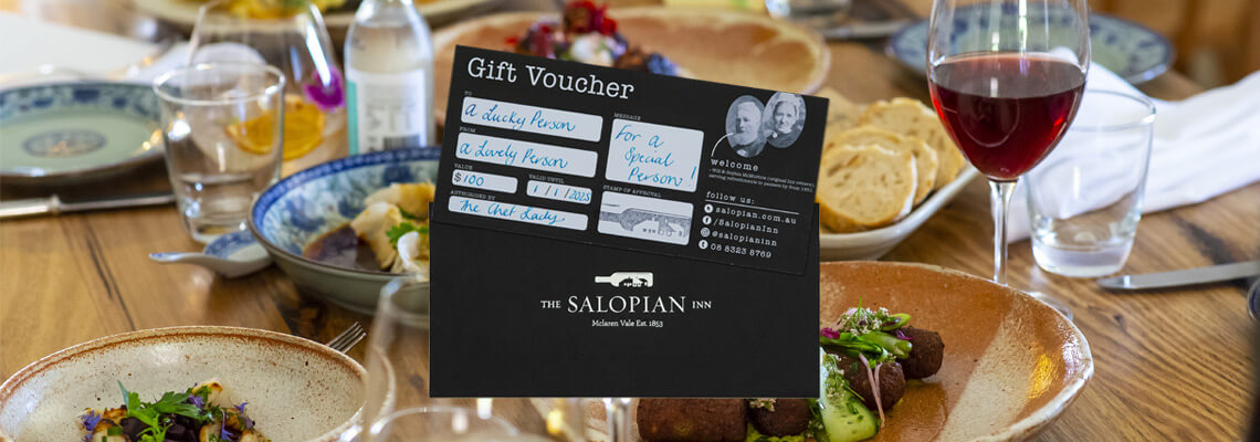Salopian Inn Gift Voucher